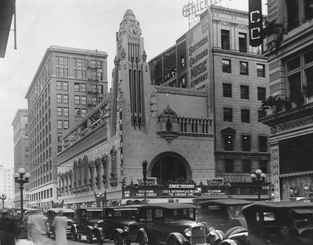 The Tower Theater, circa 1927.