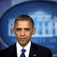 President Obama Delivers Statement On Fiscal Cliff