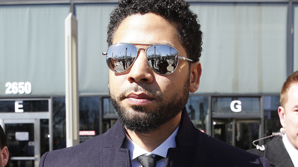 A judge has ordered a special prosecutor to look into how the case against actor Jussie Smollett was handled. Smollett is seen here in March, leaving a courthouse in Chicago after all charges against him were dropped.