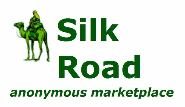 Logo for Silk Road anonymous marketplace.