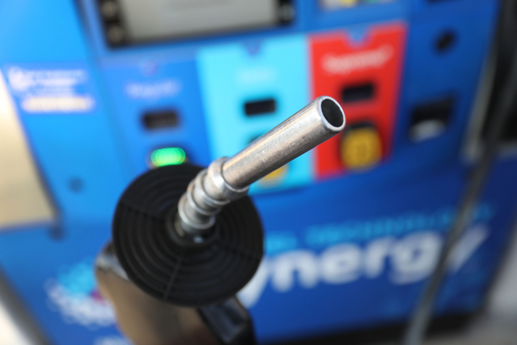 The U.S. daily national average for regular gasoline is now $2.81 per gallon. That's up from about $2.39 per gallon a year ago, according to Oil Price Information Service.