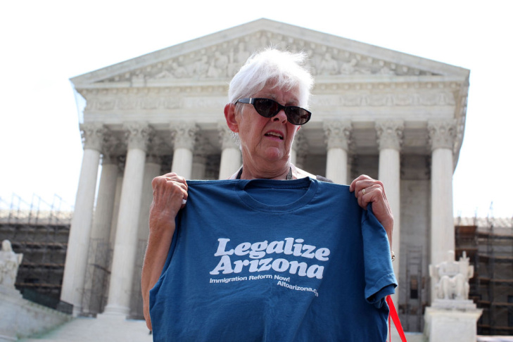 Parts Of Controversial AZ Immigration Law Struck Down By Supreme Court
