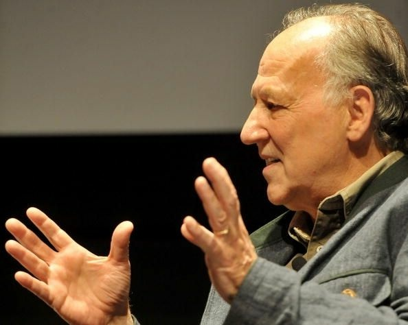 Director Werner Herzog really doesn't like chickens.