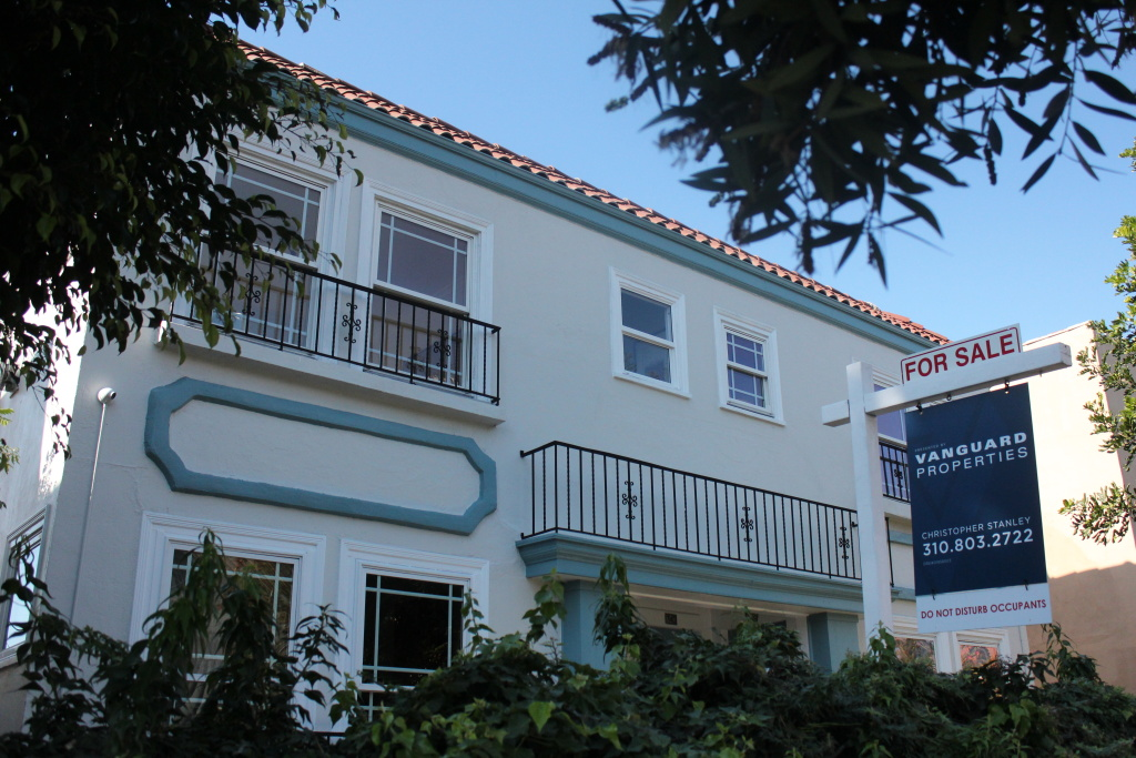 Four units in a converted Hollywood apartment building hit the market as TIC's in the $500,000 range, Jan. 12, 2020.