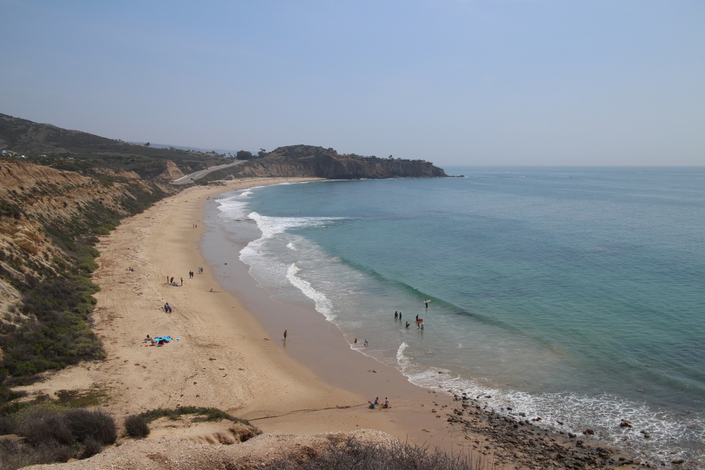 Crystal Cove State Park in Laguna Beach