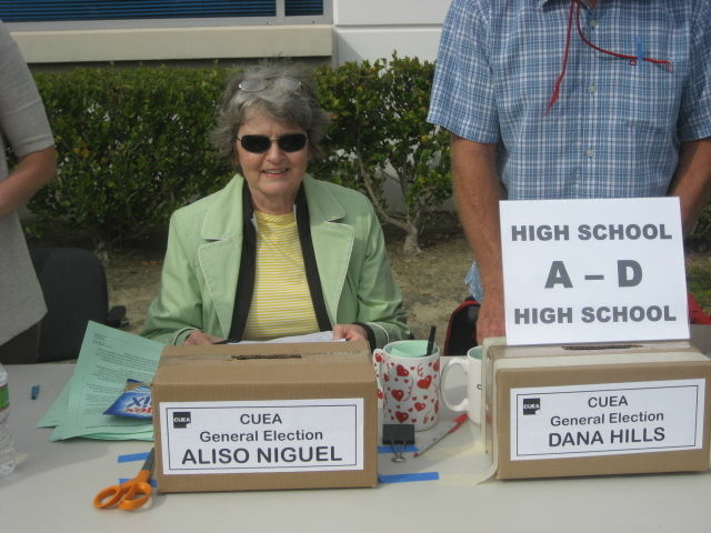 More than half of Capistrano Unified's teachers' union members cast ballots on first day of strike vote.