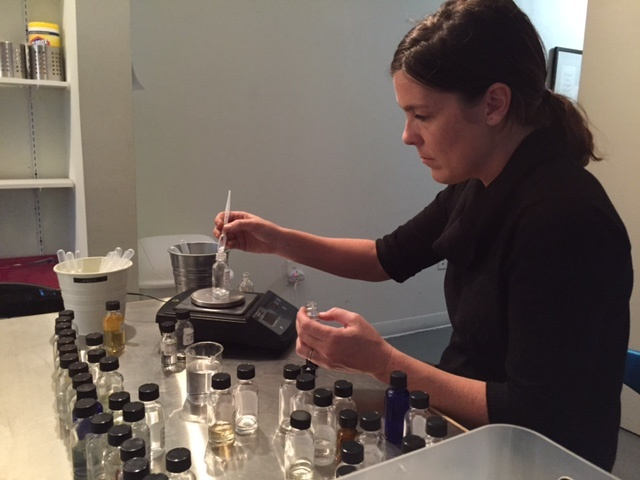 Scent molecules at the Institute for Art and Olfaction in Koreatown