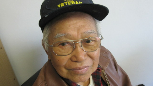 David Tejada, 90, is a World War II veteran.