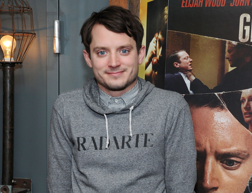 Actor Elijah Wood attends the