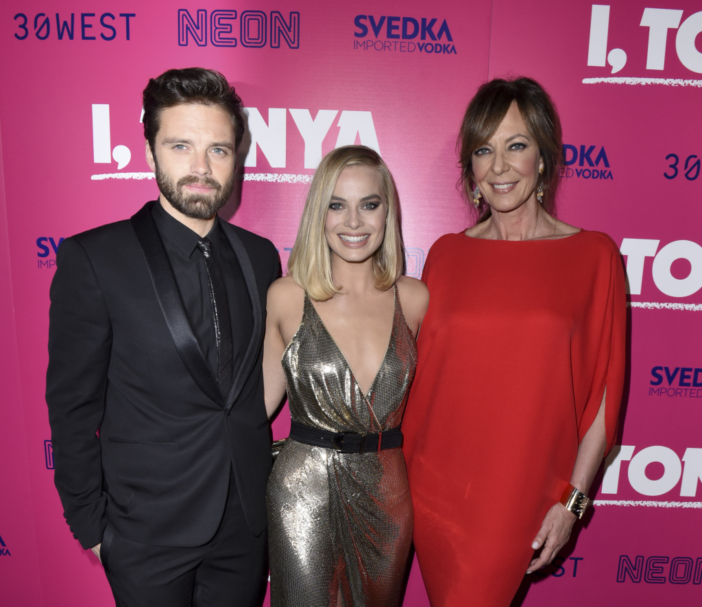 Sebastian Stan, Margot Robbie and Allison Janney attend NEON and 30WEST Present the Los Angeles Premiere of