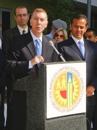 Los Angeles Unified School District Superintendent John Deasy.