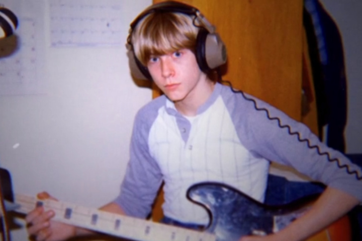 Archival photo of Kurt Cobain as a teenager.