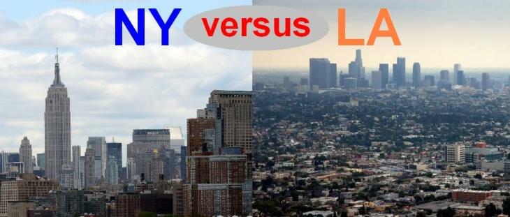 Ny versus LA
