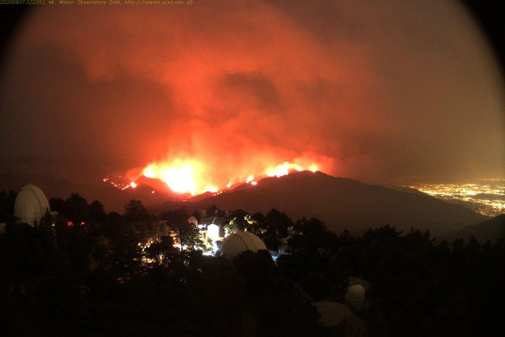 The Bobcat Fire has prompted evacuations from Mt. Wilson Observatory.