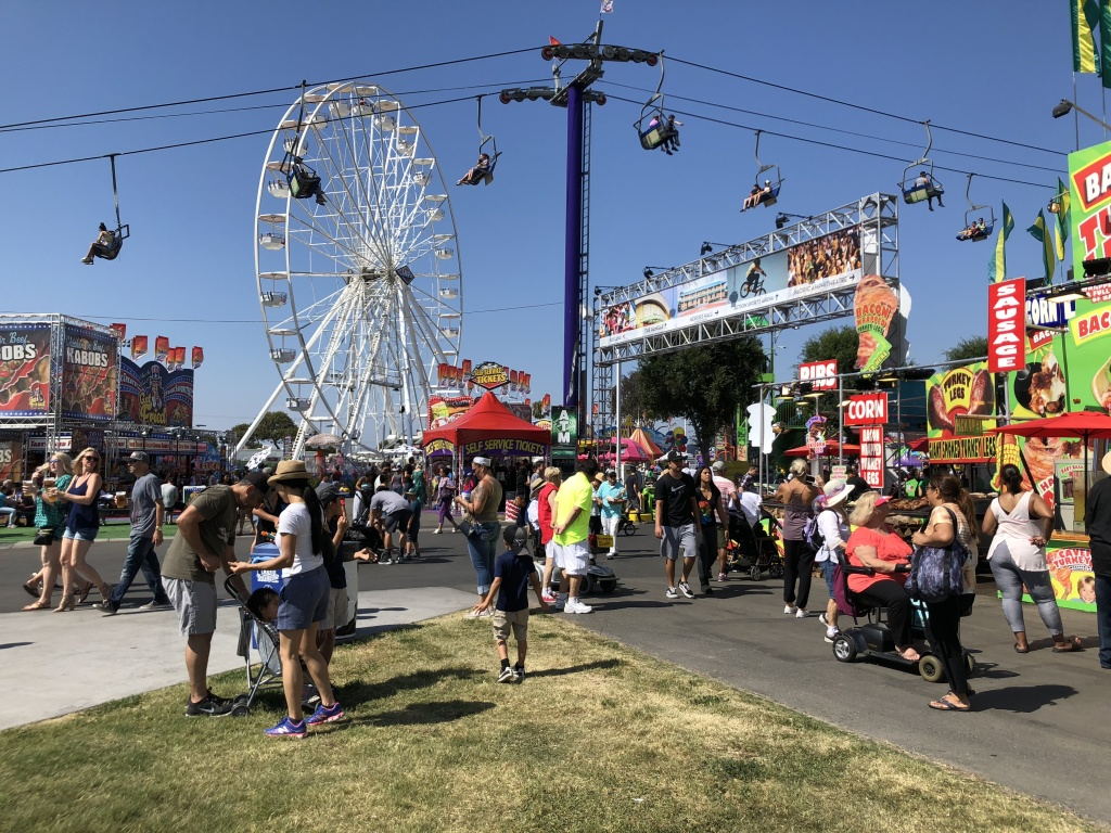 The 2018 Orange County fair opens its doors to its first guests.