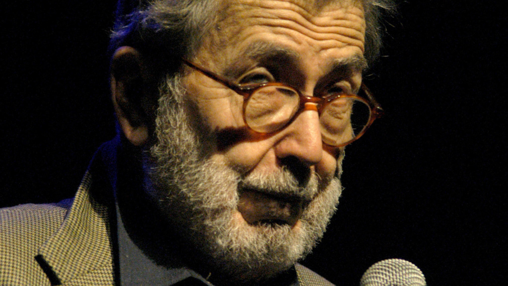 Nat Hentoff during the annual