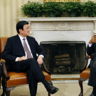 President Obama Meets President Truong Tan Sang of Vietnam