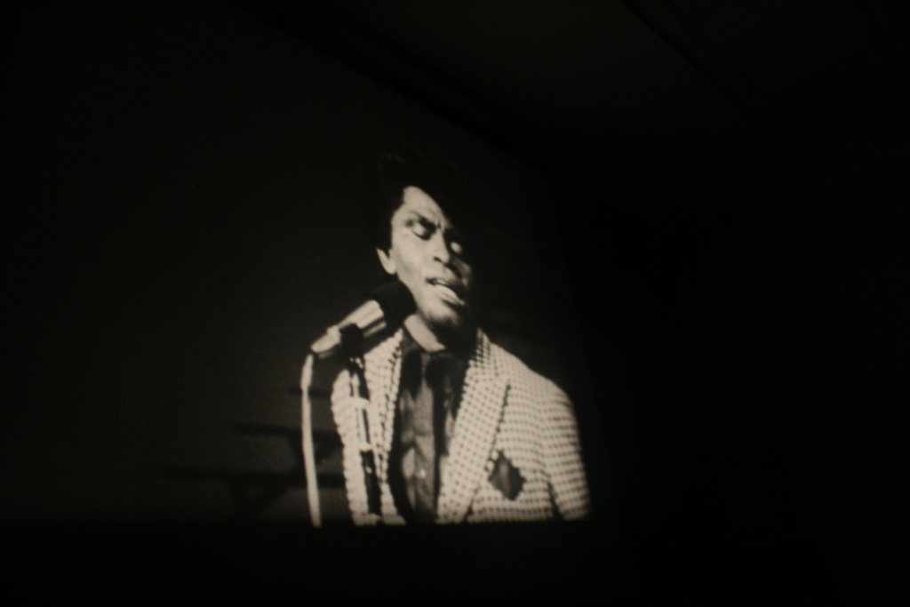 James Brown in the T.A.M.I. Show.