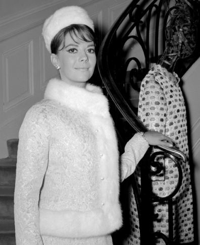 American actress Natalie Wood poses in a