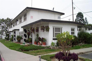 The Nickerson Gardens housing project in South Los Angeles. File photo.