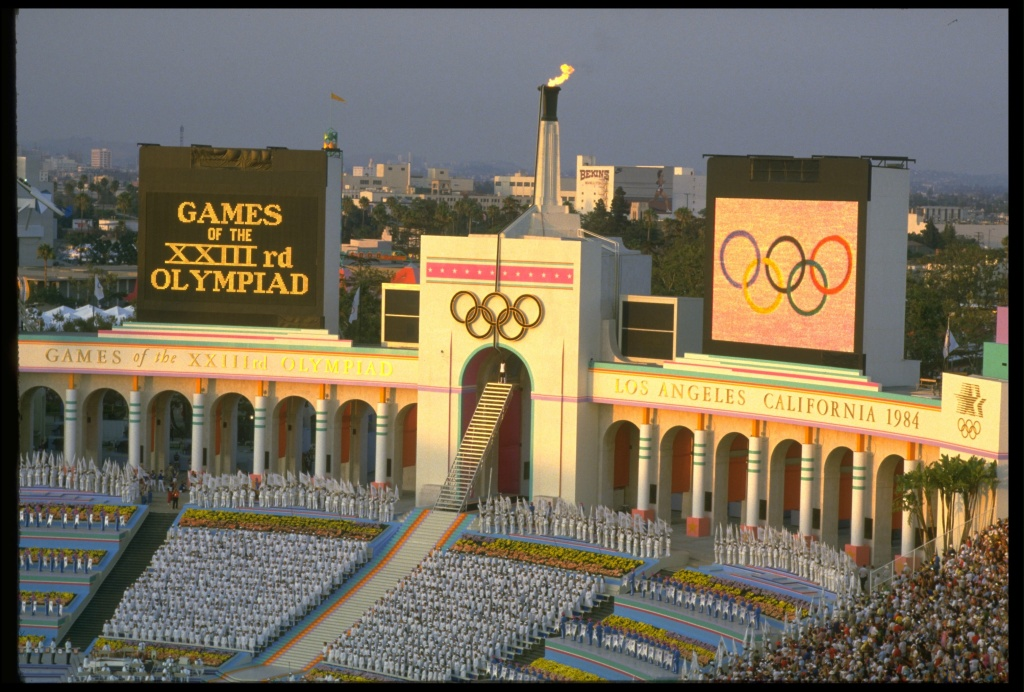 A Los Angeles city councilman wants the city to host the Olympics for a third time.