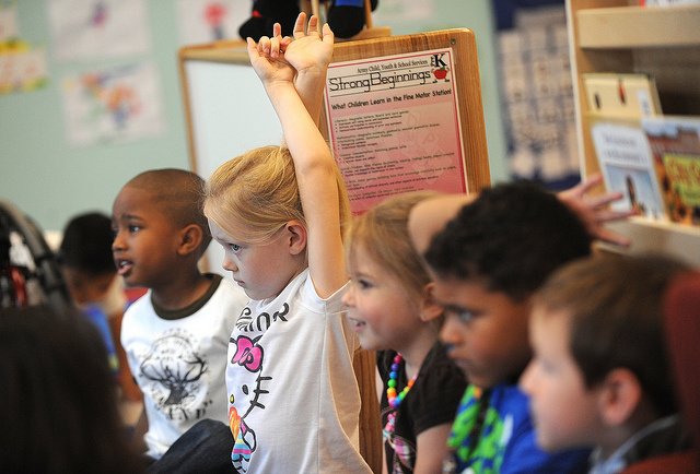 Common Core works to standardize learning goals across state lines.