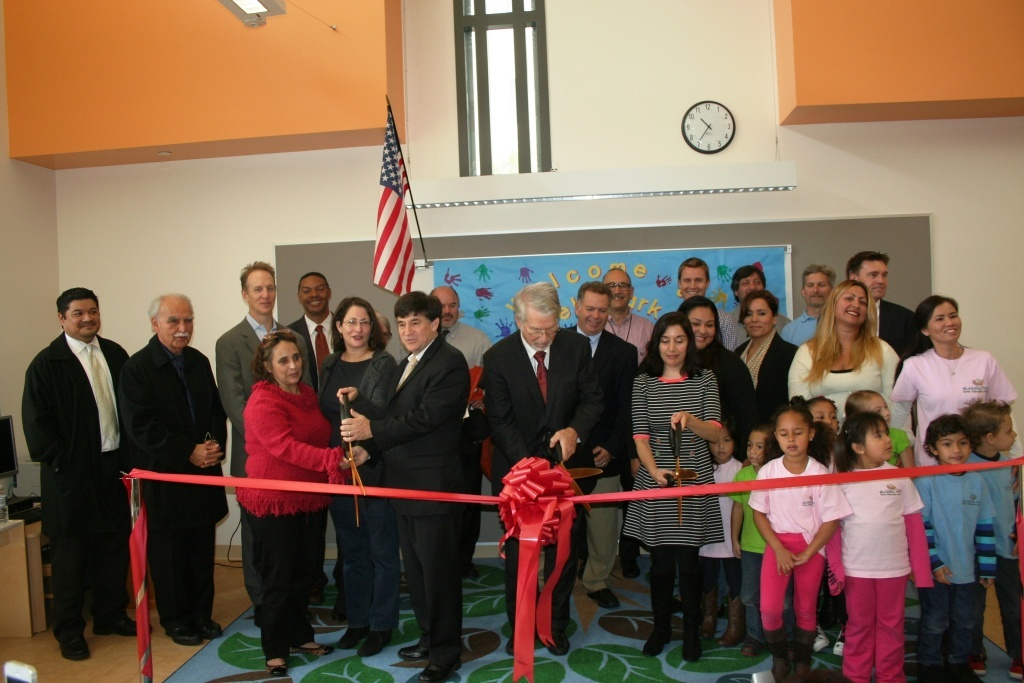 Los Angeles Unified School District (LAUSD) officials joined students, staff, elected officials, members of the community and special guests to cut the ribbon on the new Glassell Park Early Education Center last year.