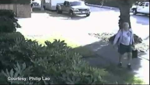 San Marino Mayor throws dog poop on neighbor's yard