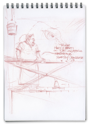 Mike Sheehan LA Opera sketch