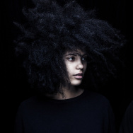 Twin sisters Lisa-Kaindé (left) and Naomi Diaz (right) - who make up the duo known as Ibeyi