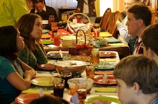 Families have it out around the Thanksgiving table…