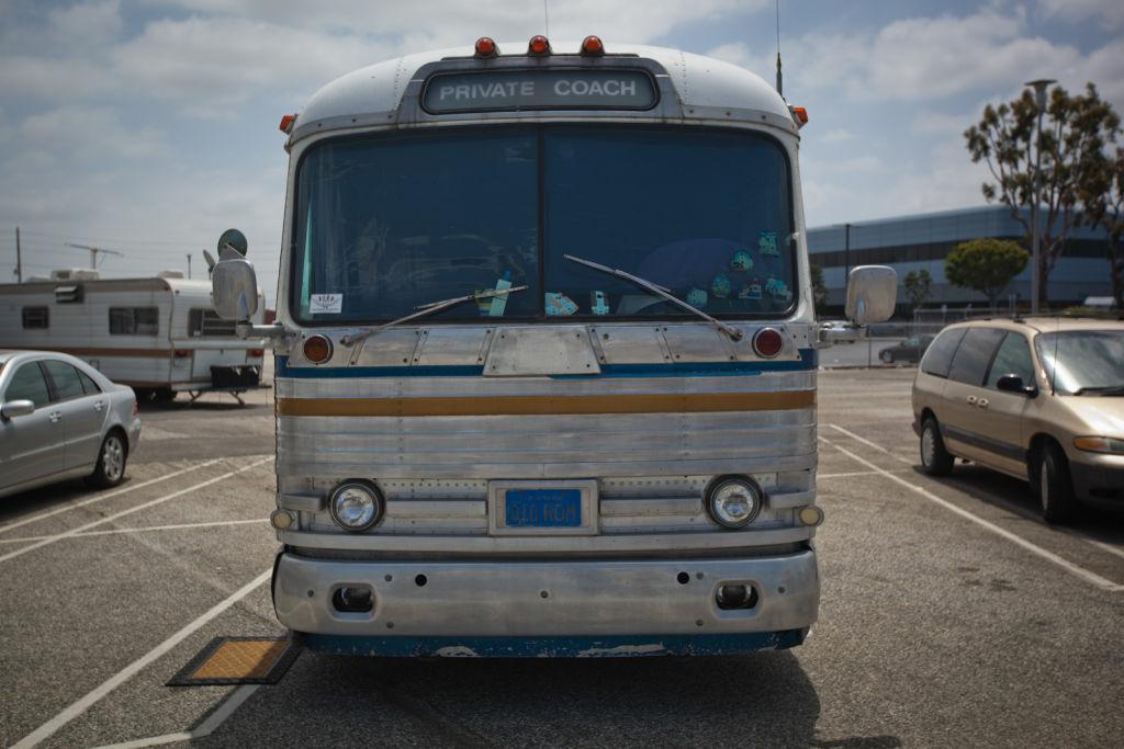United executives don't tour 'LAX Ghetto' RV park, but