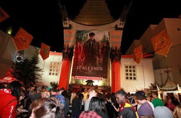 Opening night of 'Harry Potter and the Deathly Hallows: Part II' at Grauman's Chinese Theatre on July 14, 2011 in Los Angeles, California.