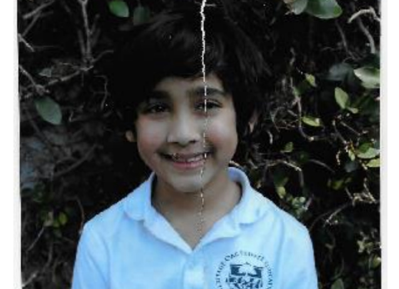A lawsuit filed Thursday, Aug. 3, 2017, included this photograph of 7-year-old Nikki Brar (pictured), a transgender child who identifies as a girl, dressed as a boy, as required by her private school, Heritage Oak in Yorba Linda. The lawsuit claims that after Nikki received the picture at school, she tore the photo in half and exclaimed 'I hate myself.' Nikki's parents are now suing the school for discrimination.