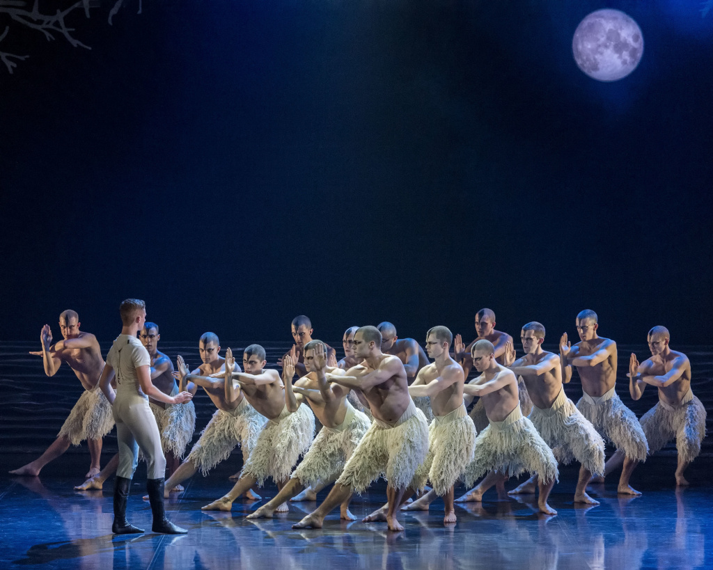 """Matthew Bourne's """"Swan Lake"""" famously features male swans."""