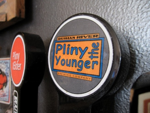Pliny the Younger on tap (from newschoolbeer.com)