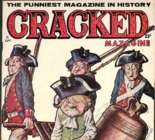 Cracked: The Funniest Magazine in History. An issue from Sept 1962.