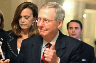A thumbs up to a debt ceiling deal from Senate Minority Leader, Senator Mitch McConnell on Sunday, but after weeks of negotiation, will President Obama get a thumbs up from the American public in 2012?