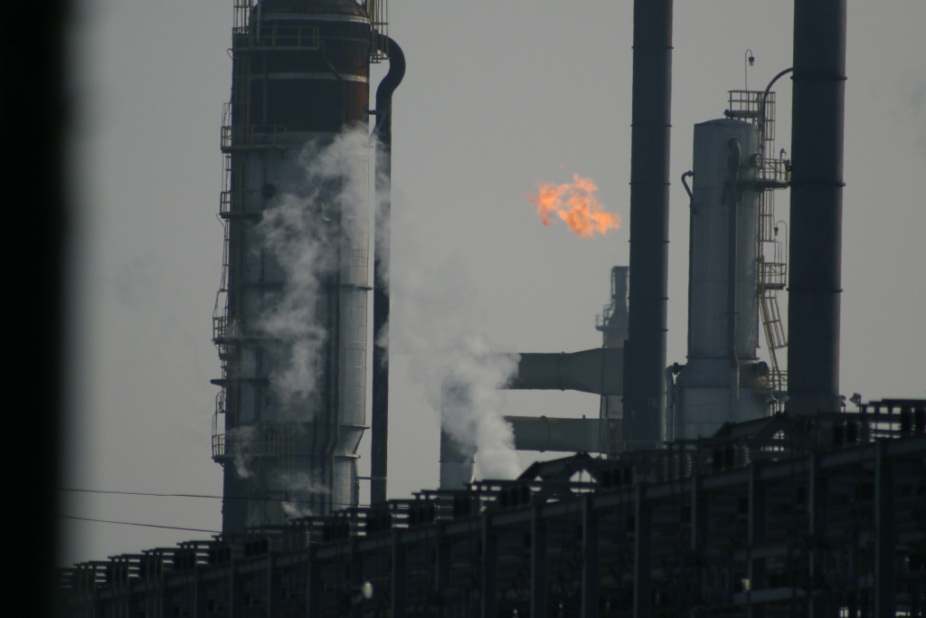A refinery in Torrance was fined for storing hazardous waste without permission.