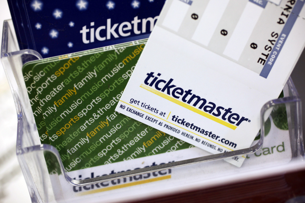 File: Ticketmaster tickets.