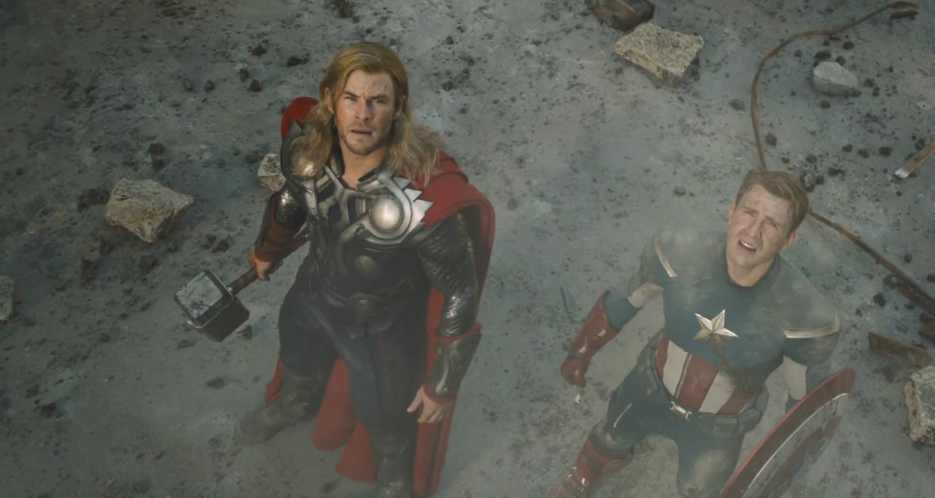 Captain America and Thor, coming to Hollywood Boulevard?