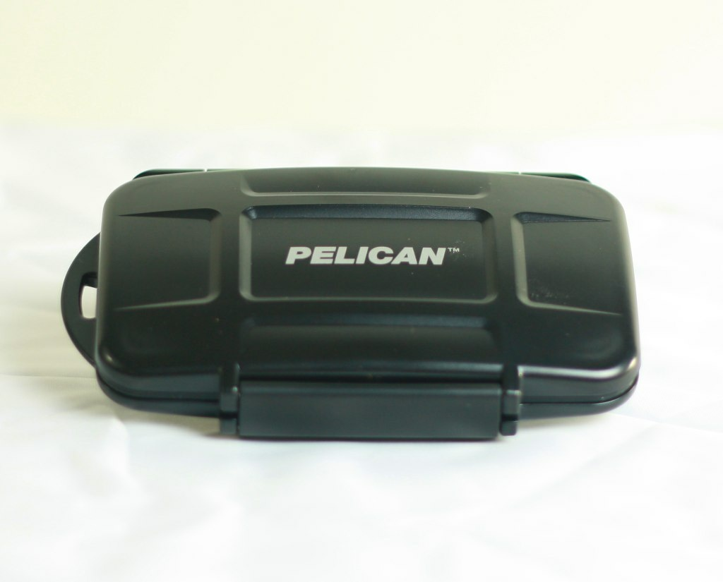A Pelican Products case.