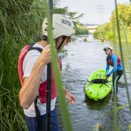 LA river kayak FOLAR