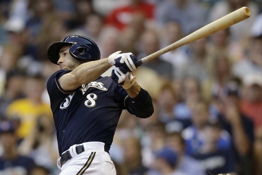 Ryan Braun of the Milwaukee Brewers was suspended for 65 games for violating MLB rules regarding performance enhancing drugs.