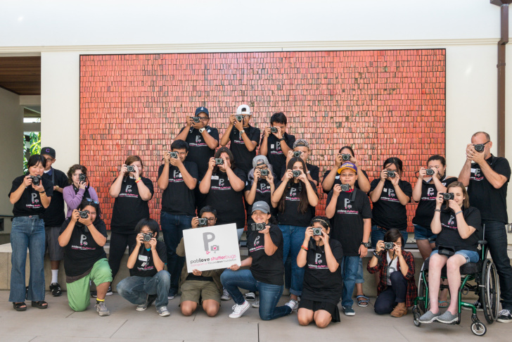 The 23 Los Angeles-area students participated in an advanced photography class as part of a pilot program. The foundation hopes to expand the program to eight cities around the country.