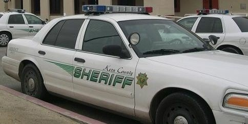 A Kern County Sheriff's Office patrol vehicle.