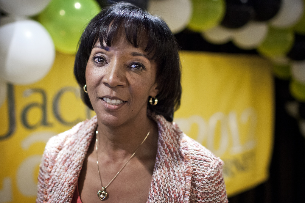 File: Los Angeles County District Attorney Jackie Lacey.