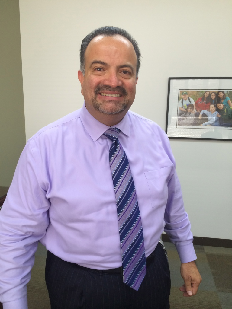 Chancellor Francisco Rodriguez heads the largest community college district in the nation in Los Angeles, with nine campuses and more than 150,000 students.
