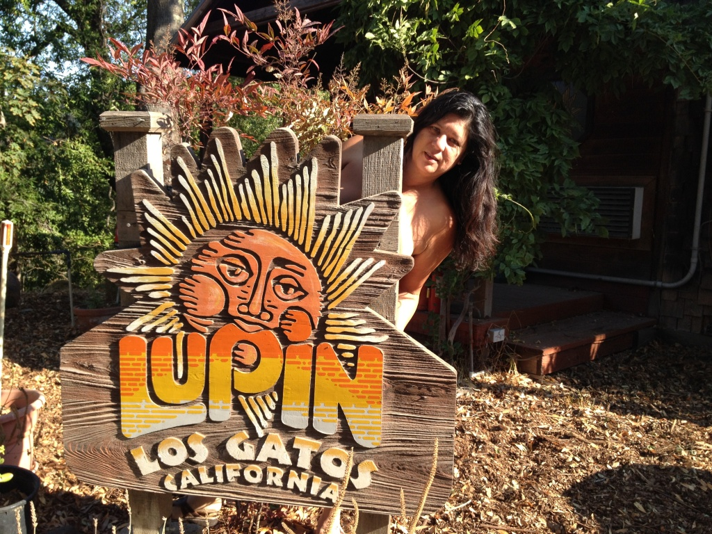 Lori Kay Stout, owner of the Lupin Lodge in Los Gatos, California.