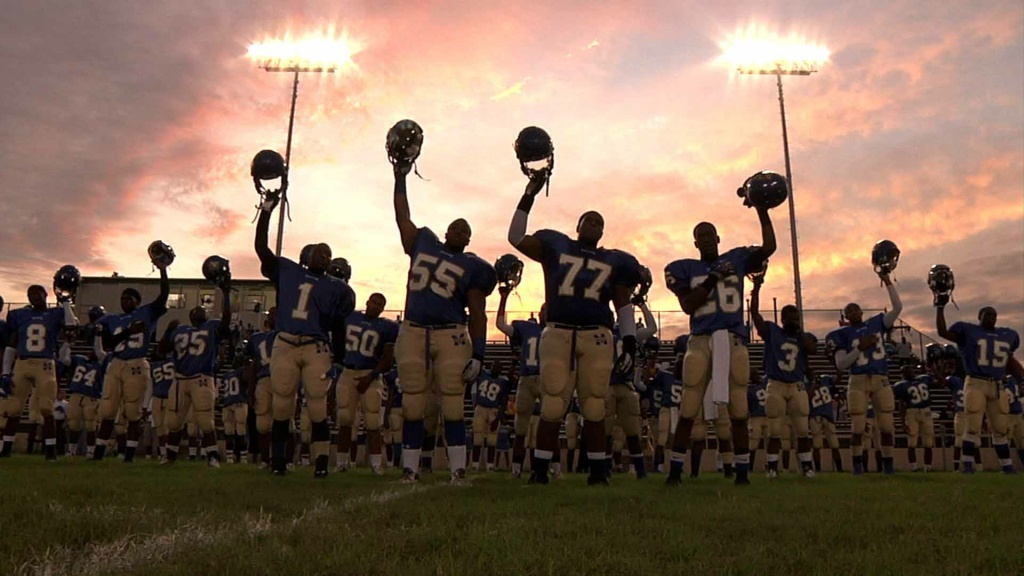Still from the film, Undefeated